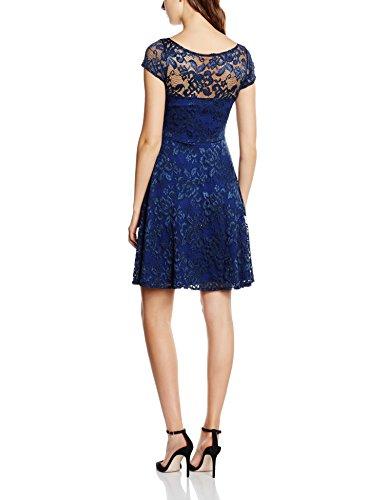 HotSquash Lace Fit n Flare-Vestito  Donna Blu (Navy)