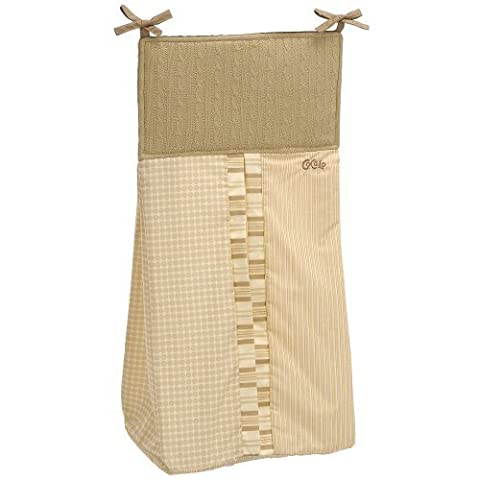 CoCaLo Snickerdoodle Diaper Stacker by We-Love-Babies