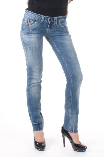 Clink jeans london -  jeans - donna blau wash 36