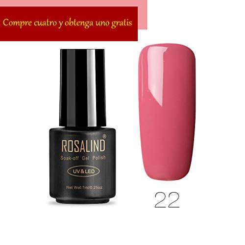 Rosalind Gel-Nagellack, 7 ml, semi-permanent, Soak-Off, Salon UV Nagelkunst, Dekoration, Lack