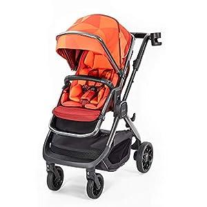 Diono Quantum2 3-in-1 Luxury Muti-Mode Stroller, Orange Facet   13