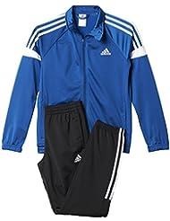 adidas YB TS KN TIB CH - Chándal para niños, color azul / negro / blanco, talla 116