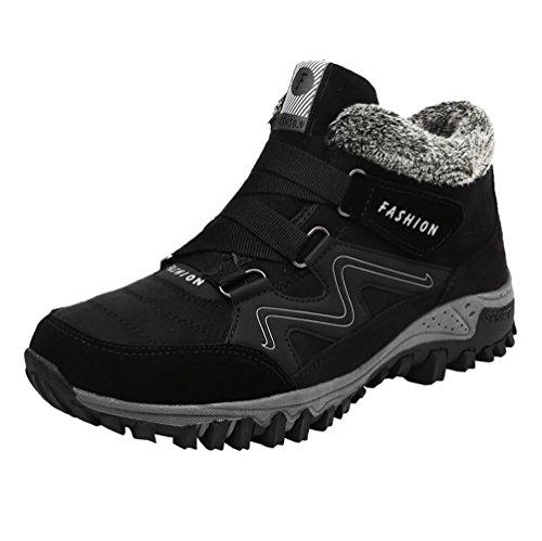 Minetom primavera scarpe donna uomo caldo calzature da escursionismo ginnastica sneakers calzino palestra corsa da arrampicata a nero 2 eu 38