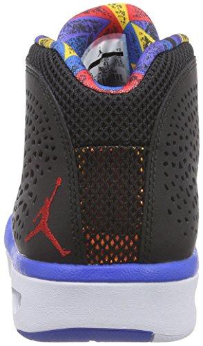 Nike Jordan Flight 2015, Scarpe sportive, Uomo Black/Gym Red-Soar-White