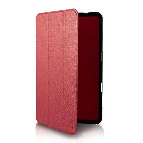 Micro Folio SGT4-MF8-73 Schutzhülle für XtremeMac Galaxy Tab 4 20,3 cm (8 Zoll), ultradünn, Rot Micro Folio
