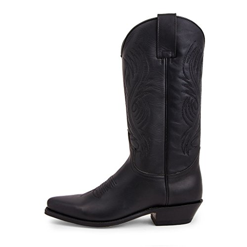 Sendra Boots - 2605 Red Pull Oil Negro-35
