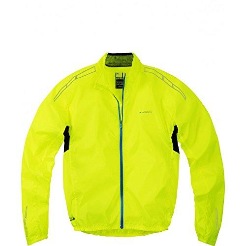 Madison pac-it uomo giacca impermeabile Giallo - giallo