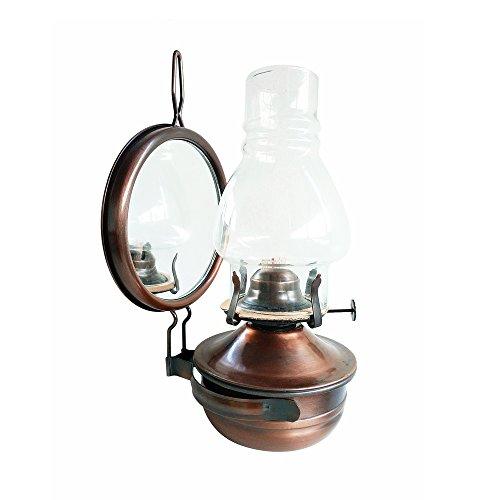 KMYX Kreative Retro-Kerosin-Lampe Antike kann Paraffin-Lampe hängen Bronze Camping Portable Hängeleuchten Outdoor-Zelte Leuchten Einrichtung Kollektion Geschenk Impressum Lampe ( Größe : Style B )