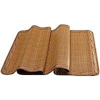 Doppelseitige Gebrauchsbett-Matte - Bambus Sommer Schlafmatten Haushalt Hochgradige Atmungsaktiv Faltbar Matten - natürlicher Bambus und Rattan Klappbett-Matte (Größe : 0.8*1.9m) preisvergleich bei kinderzimmerdekopreise.eu