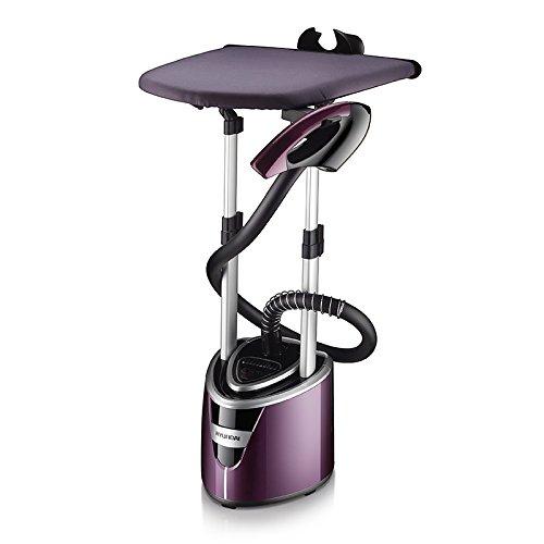 Ferro Da Stiro Verticale,Vapore Potente E Continuo,Stiratrice Verticale Vapore 2000W Garment Steamer Per Utilizzare A Casa Con 2 Litri Di Grande Serbatoio D'acqua,Purple-55*45.5*34cm