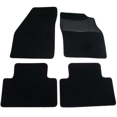 sakura-mat-set-includes-carpet-with-rubber-heelpad-for-volvo-s40-v40-2004-onwards-no-clips-black