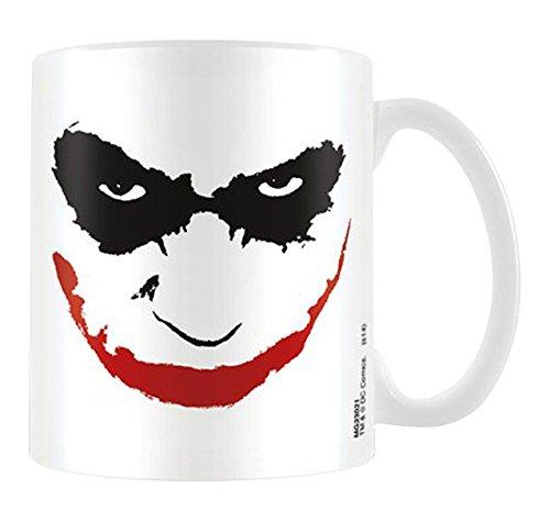 Batman - The Dark Knight - Joker Face - Tazza in ceramica - dimensioni ø8, 5 H9, 5 centimetri