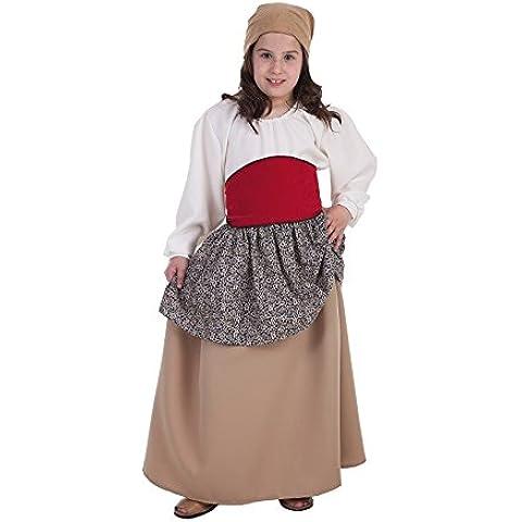 Disfraz de Campesina medieval para niña