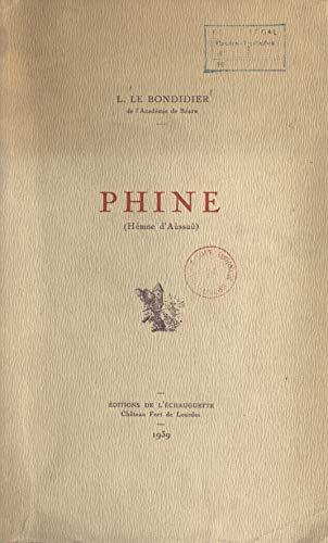 Phine: Hémme d'Aùssaù (French Edition)