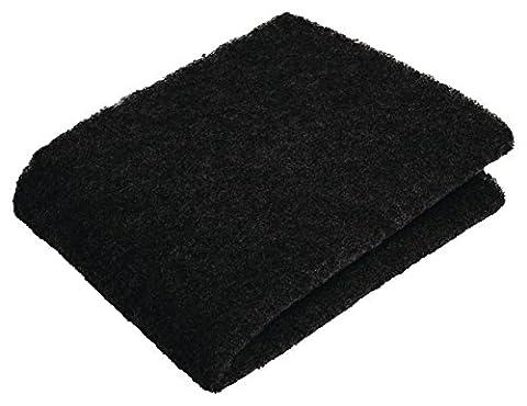 Eurosell 5 Stück - 57 cm x 47 cm Aktivkohlefilter für Dunstabzugshauben Aktiv Kohlefilter Filter Dunstabzugshaube - zuschneidbar
