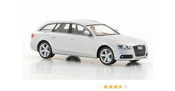 Audi A4 Avant Silver Model Car Ready Made Herpa 1 87 Spielzeug