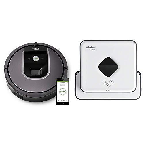 iRobot Roomba 960 - Robot Aspirador Óptimo Mascotas con Wifi y Programable por App + iRobot...