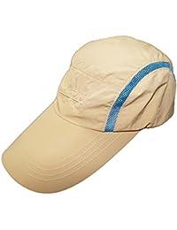Sumolux Sombreros Gorros Visera de Pesca Pescador Protección contra Sol Casquillo UV para Hombres Mujeres Senderism