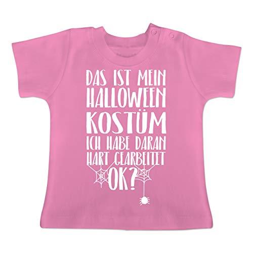 Anlässe Baby - Das ist Mein Halloween Kostüm - 18-24 Monate - Pink - BZ02 - Baby T-Shirt ()