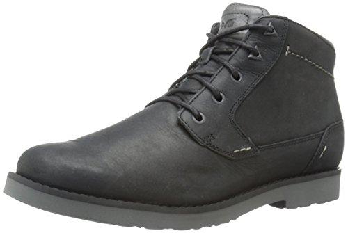 Teva Durban-Leather, Stivaletti Uomo, Nero (Black-Blkblack-Blk), 42 EU