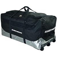 Sherwood Bolsa para Hockey Sobre Hielo SL 800Goalie Wheel Bag, Negro, 111x 56x 55cm, 92L, 80067
