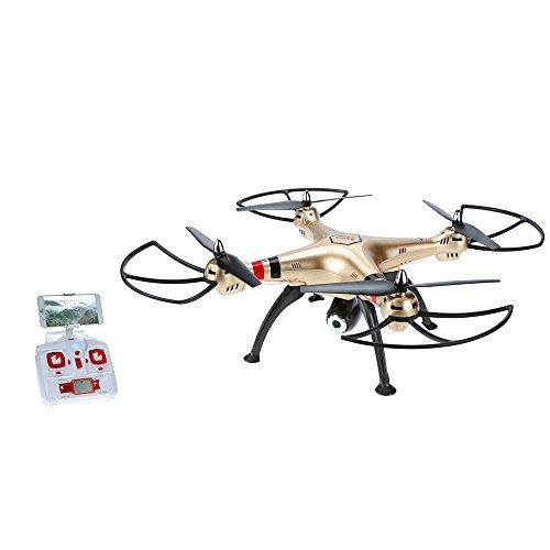 GoolRC Syma X8HW Drone Cámara 2.0MP HD FPV Wifi Mantenimiento
