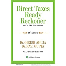Direct Taxes Ready Reckoner with Tax Planning
