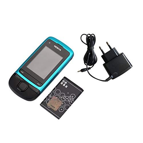 Tree-on-Life Nokia C2-05 Dia Handy MP3 Player 0.3MP Kamera 3.5mm Klinke entsperrt überholte Telefon-Unterstützungs-TF-Karte (Entsperrt Handys Nokia)