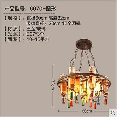Designer creativo di personalizzazione di bottiglie di vino Chelier Ristorante Bar Caffetteria Deco Cheliers Chelier industriale