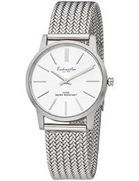 Eichmüller 3525-01 3525?01 - Reloj para mujeres, correa de acero inoxidable color plateado