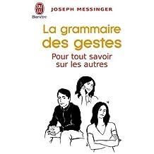 La grammaire des gestes