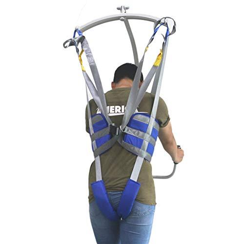 41hcGdhPYLL - Hmlopx Paciente Levantar Estar Ayudar Cinturón Honda En Pie Sentarse A Estar Capacidad Completamente Acolchado Antideslizante Interior Almohadilla No Subirse Mas Rapido Más Fácil Más Seguro Traslados