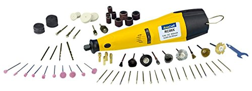 Rotacraft RC09 X 9,6 V Variable Speed Rotary Tool Kit - Gelb/Schwarz - Variable Speed Cordless Drill