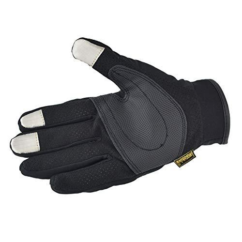 Guanti moto invernali,guanti con touch screen per uomo e donna,guanti caldi termici esterni per moto mtb palestra bici ciclismo alpinismo scooter xl