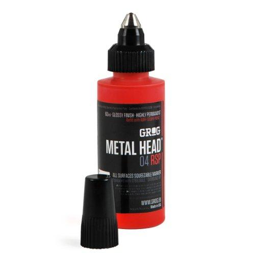 Grog Metal Head 04 RSP (Goldrake Purple) by Grog