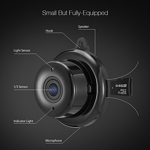 DIGOO Mini 960P Wlan kamera - 4