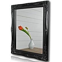Miroir baroque noir for Miroir noir dvd
