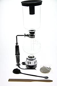 Classic 5 Cup Tabletop Siphon (Syphon) Coffee Maker (Alcohol Burner)