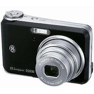 GE D1030 Compact Digital Camera 10 Megapixel with 3x Optical Zoom