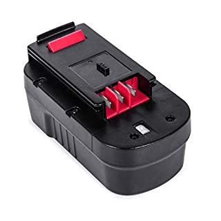 LENOGE Black+Decker A18 A18E Battery 18V 3.0Ah Replacement Battery for HPB18 HPB18-OPE, Fit Power Tool Black and Decker EPC188 HP188F2K HP188F3 EPC18CA GTC800 GTC610