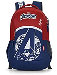 Skybags Marvel 10 32 Ltrs Red Casual Backpack (Marvel 10)