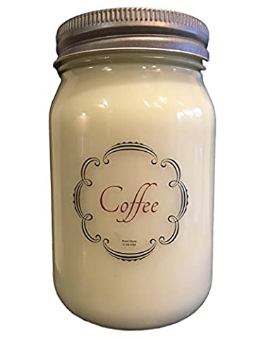 Scentual Home Soy Candle, Coffee, 16 oz.