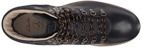 Clarks Padley Alp Gtx Stiefel Dark Blue Leather