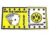 BVB Aufnäher Borussia Dortmund Aufnäher Nur wir haben alle Asse