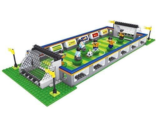 AUSINI di marca / calcio set con 6 giocatore mini personaggi by Ingenious Toys #25591