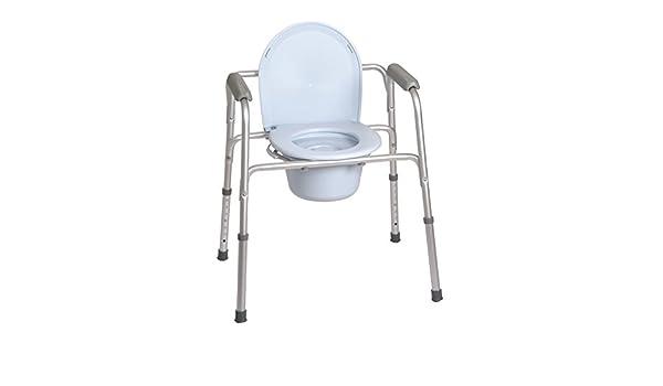 Sedia comoda funzioni in rialzo water supporto per water