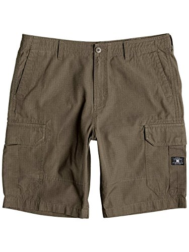 Dc Shoes Ripstop Cargo - Short pour Homme, Couleur: TAUPE, Taille: 31