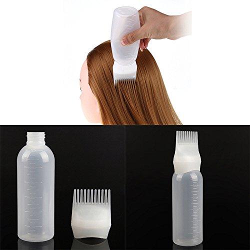 Houkiper 120 ml Frauen Mode Haarfärbemittel Applikator Pinselausgabe Salon Friseur Werkzeug