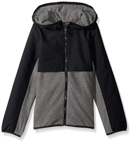 Under Armour Mädchen Phenom Fleece Full Zip, Mädchen, 1300098, schwarz/schwarz, Youth XL