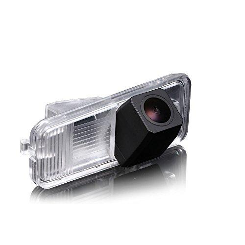 Dynavision Einparkhilfe,Kamera für Nummerschildbeleuchtung,Kennzeichenbeleuchtung Farb Rückfahrkamera für Hyundai Azera IX35 25 45 Santa FE KIA Carens
